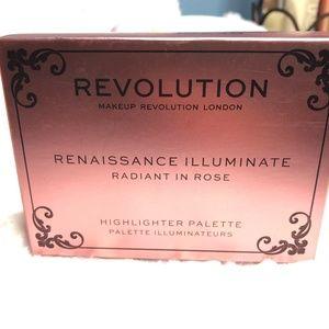 Revolution Beauty Radiant Highlighter Palette